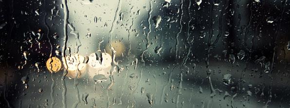 Pəncərədən yağış